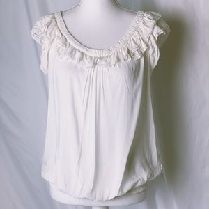 MZara woman ruffled sleeved blouse size small